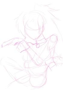 Initial sketch.